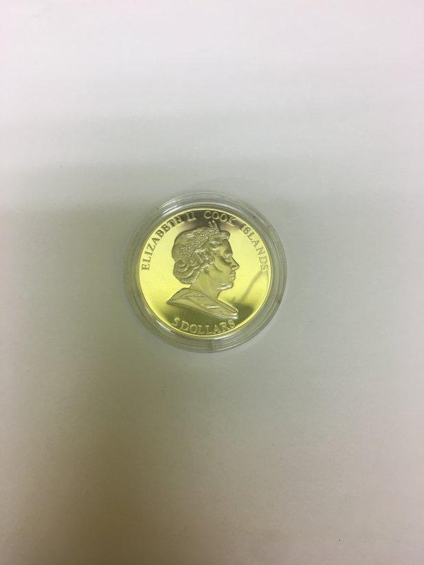 Elizabeth 2 Cook Island Coin