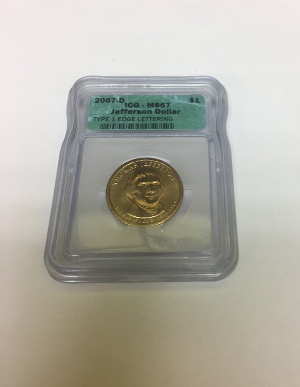 Jefferson Dollar Coin