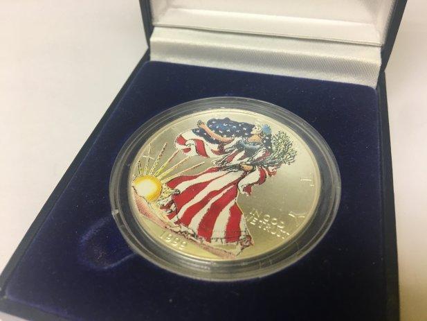 1999 Liberty Silver Dollar Coin