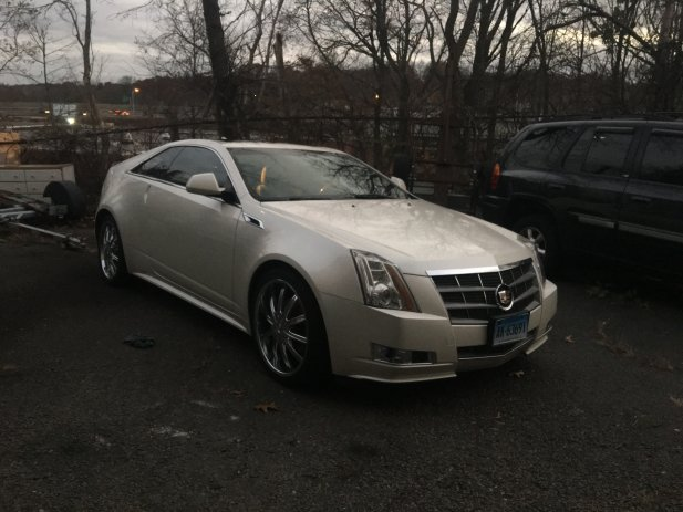 Cadillac CTS Coupe premium